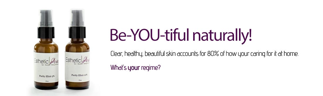 Be-YOU-tiful naturally! Clear, healthy, beautiful skin accounts for 80% of how your caring for it at home.